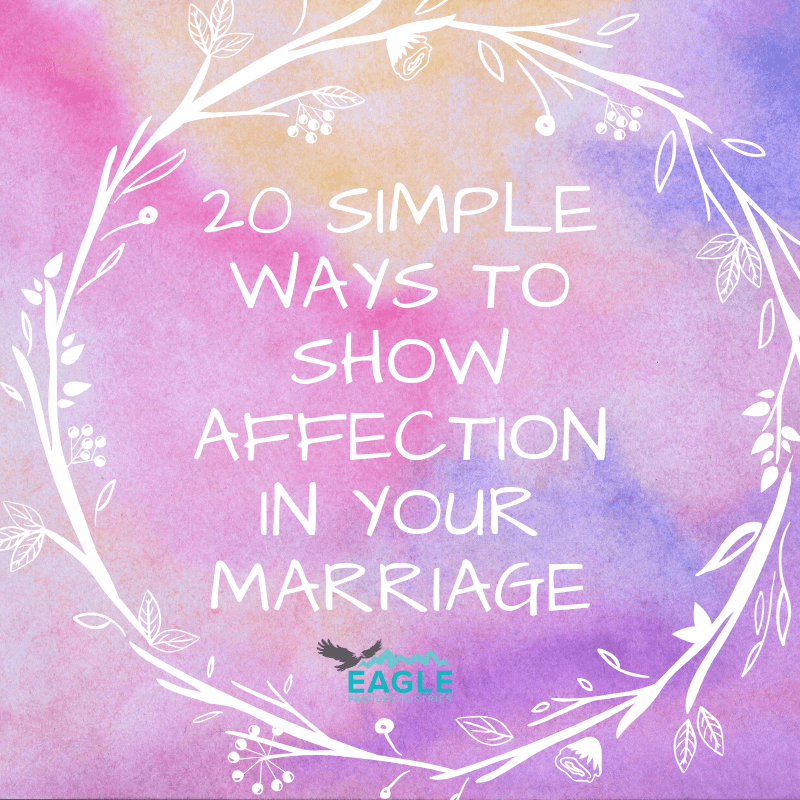 20 Simple Ways to Show Affection in Your Marriage