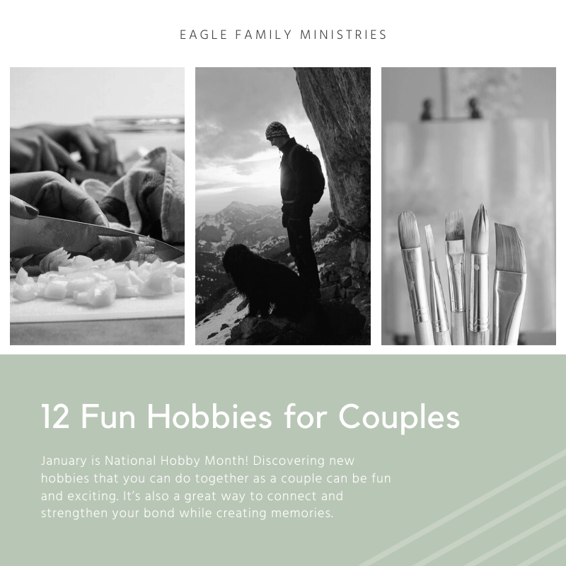 12 Fun Hobbies for Couples to Start this Year