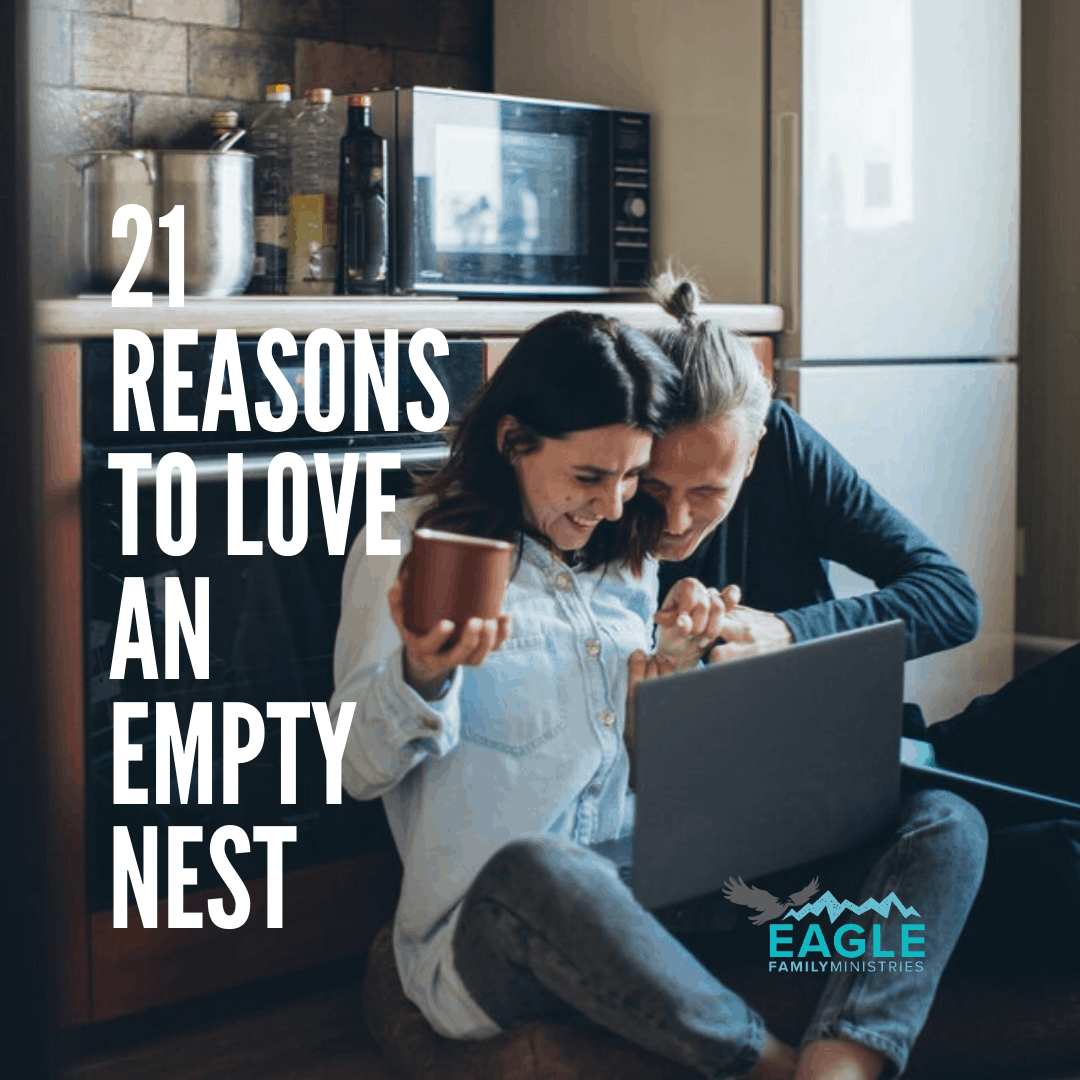 21 Reasons to Love an Empty Nest