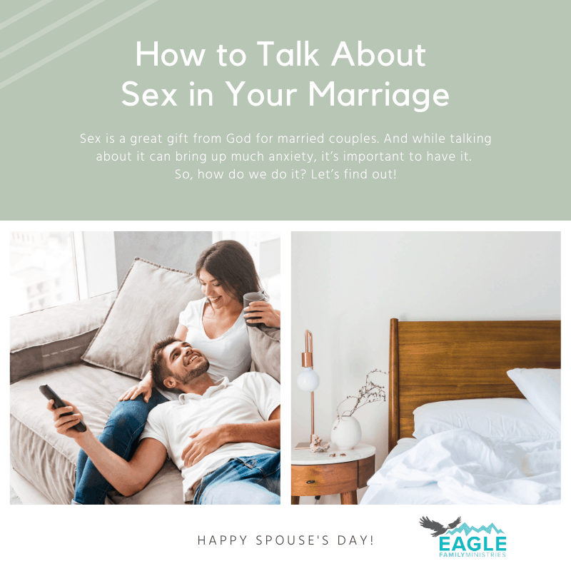 How to Talk about Sex in Your Marriage