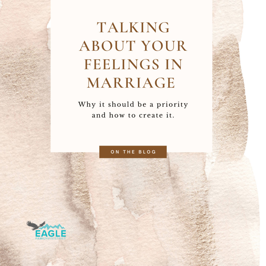 Talking About Your Feelings in Marriage